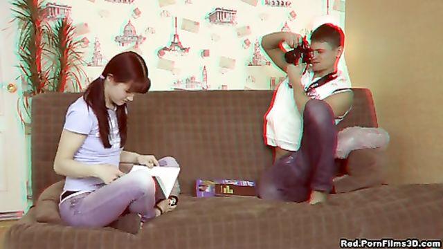 Русское 3D порно с молодыми