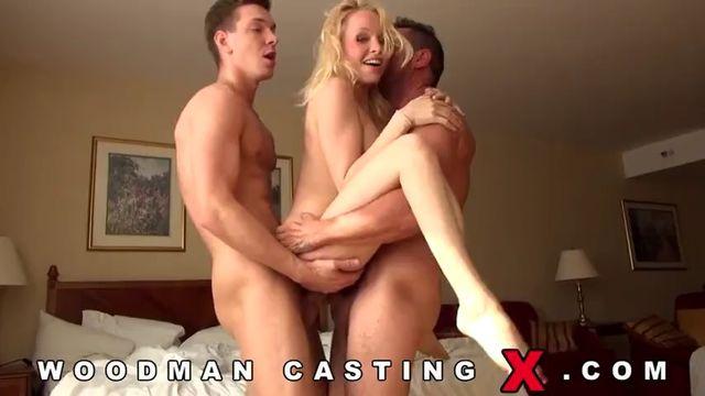 Секс кастинг: Пьер Вудман и русская Люба Бушуева (ака Лола Тейлор)