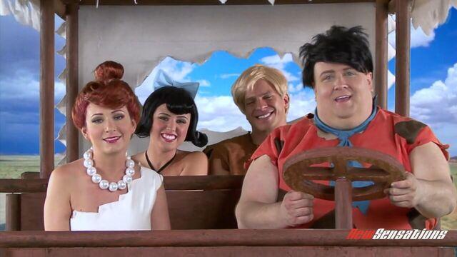 Флинстоуны: Пародия XXX (The Flintstones: A XXX Parody) CD1 русский перевод