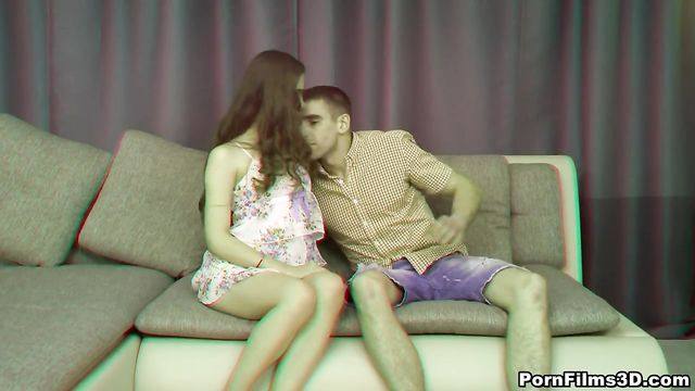 3D порно: Анал с тугой попкой красотки
