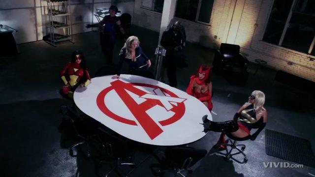 Мстители: XXX порно пародия / The Avengers XXX: A Porn Parody онлайн