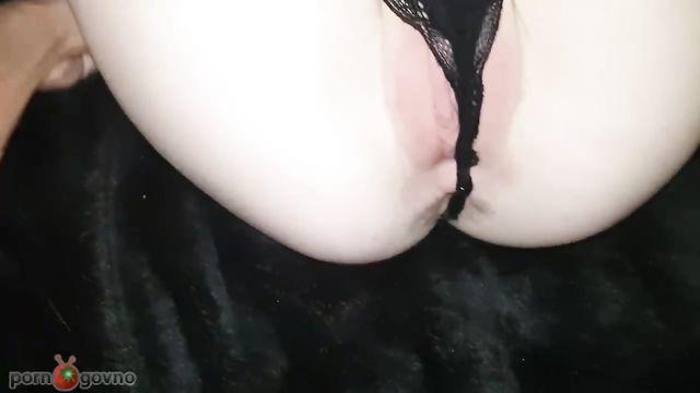 Домашнее любительское видео: Минет + анальный секс