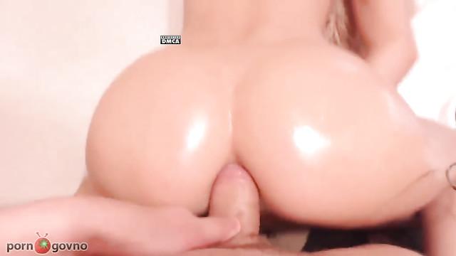 Русское порно с диалогами: Трахни меня в жопу жестко!
