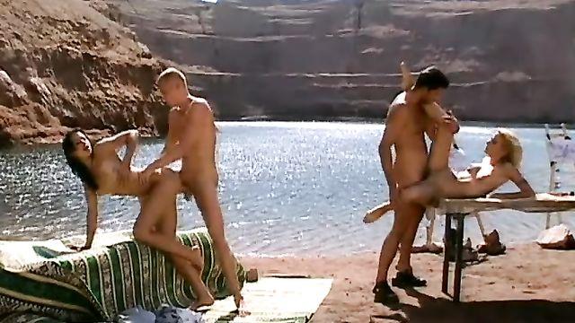 Как снимали порнофильм Секс по обмену (за кадром) видео